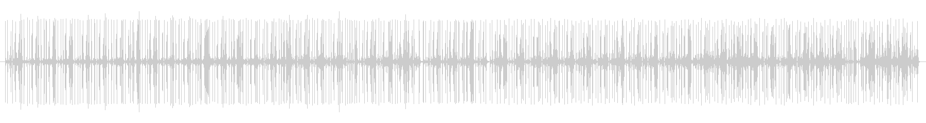 グルーブ16ビートpurdie風ドラム2の未再生の波形
