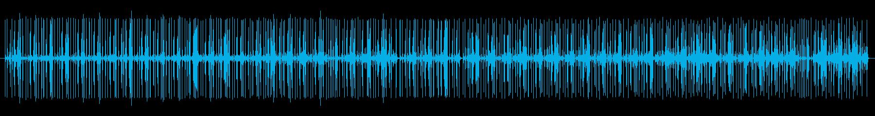 グルーブ16ビートpurdie風ドラム2の再生済みの波形