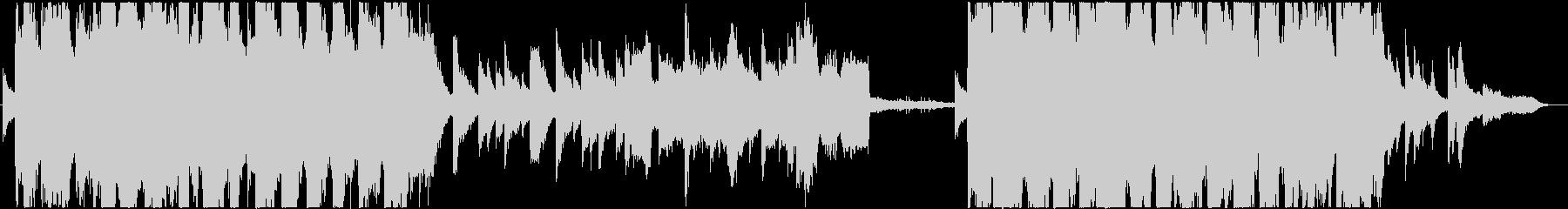 切ない雰囲気3拍子バラード/ピアノチェロの未再生の波形