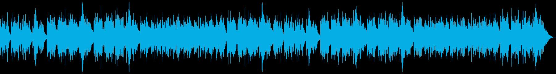 黄昏の森の再生済みの波形