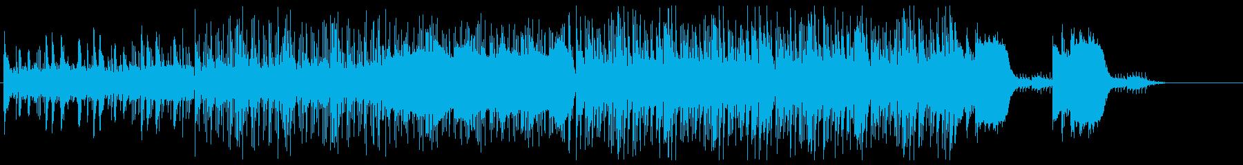 かっこいいミディアムテンポのエレクトロの再生済みの波形