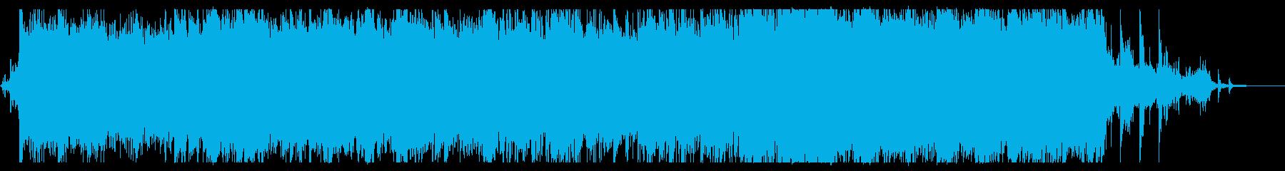 深い海底をイメージしたピアノバラードの再生済みの波形