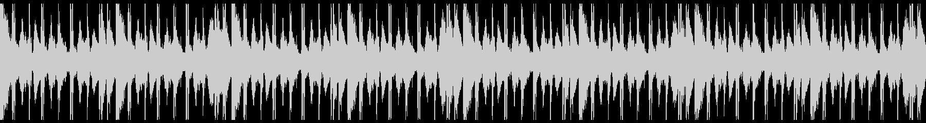 Loop ピアノとウッドベースのLoFiの未再生の波形