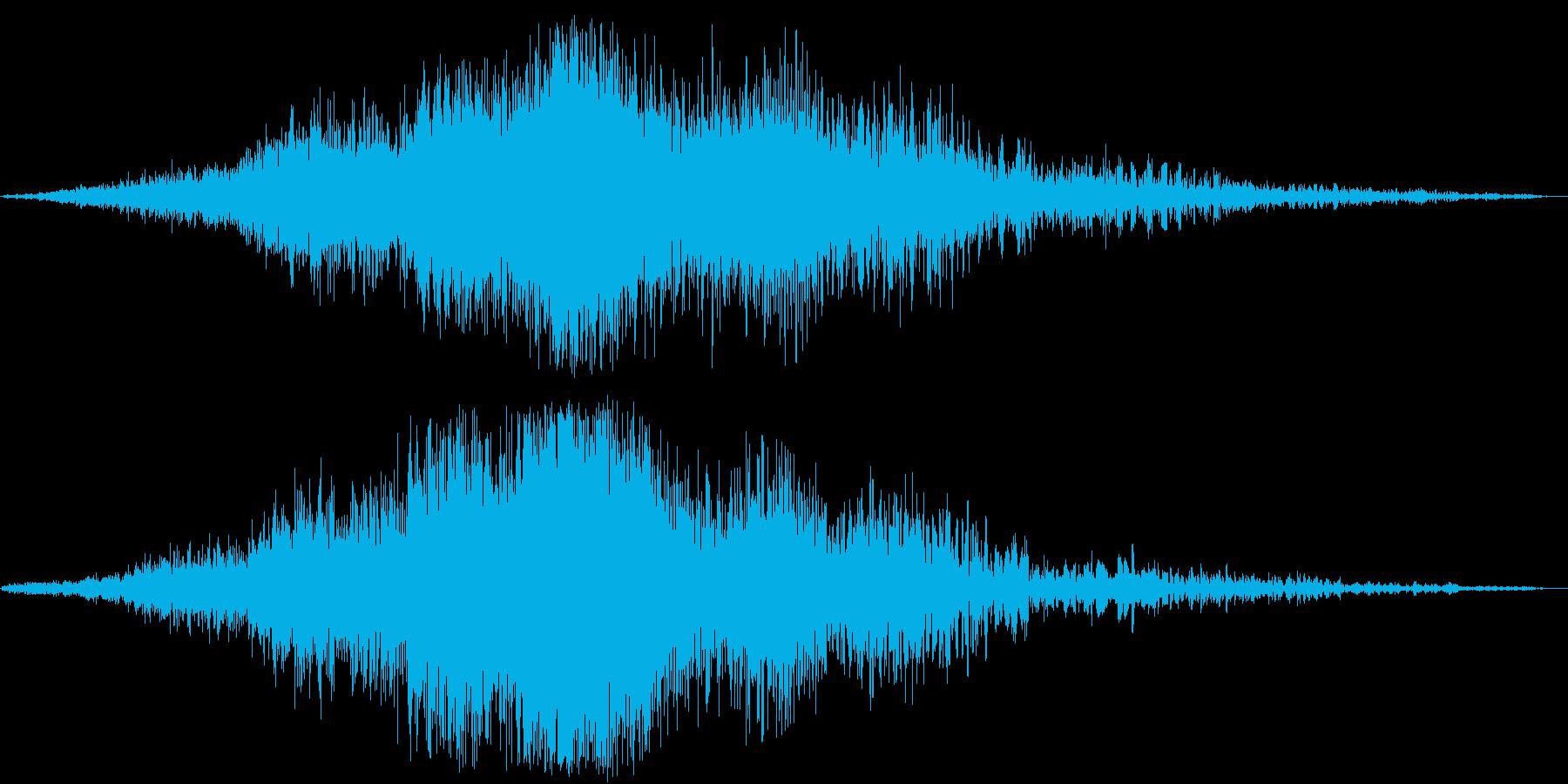迫力のタイトルロゴ(映画・トレーラー)5の再生済みの波形