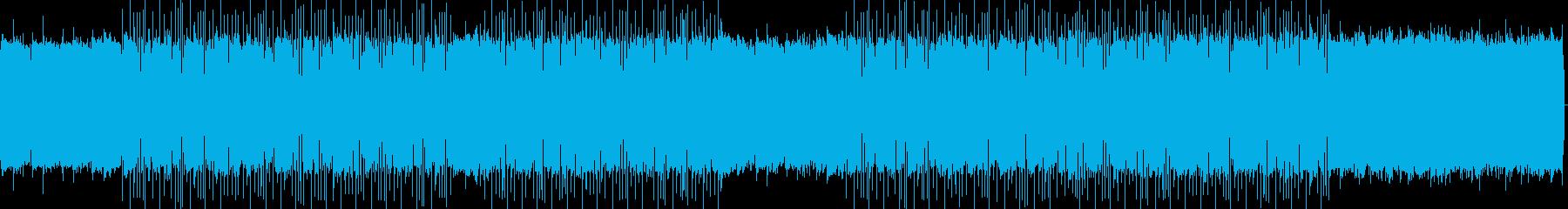 メロウで浮遊感のあるノイズポップ・ループの再生済みの波形