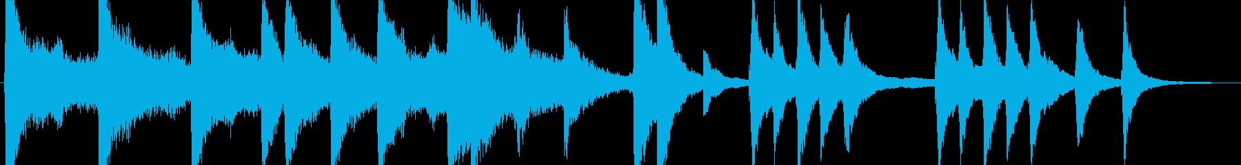 ジングル - ライトを点けるの再生済みの波形