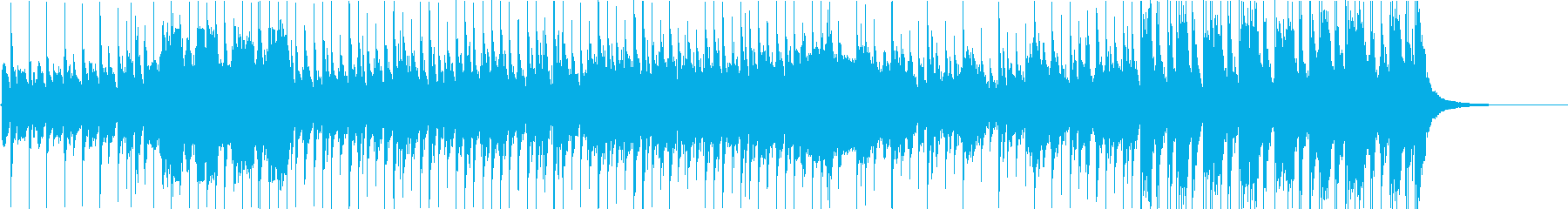 ゆったりとしてアンニュイなエレクトロの再生済みの波形