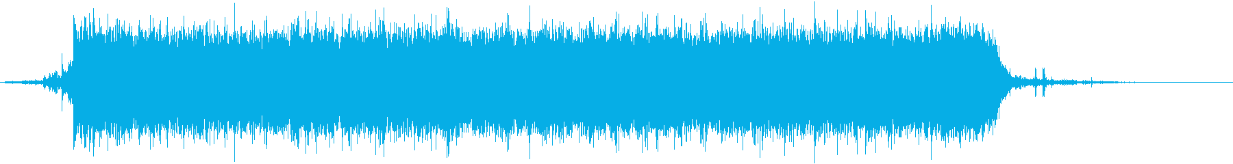 ジャー☆蛇口から水が流れる音 その3の再生済みの波形