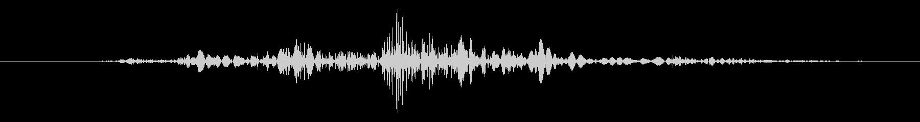 ガタッ【汎用的な物音】の未再生の波形