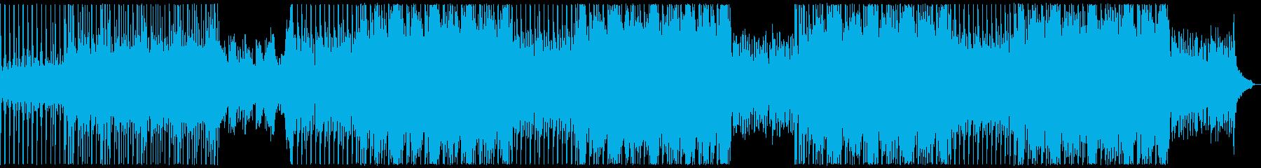 爽やかでおしとやかなうきうきサウンドの再生済みの波形