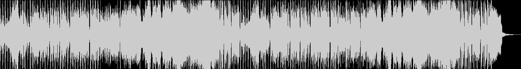オープニングや切り替えに使える明るい曲の未再生の波形