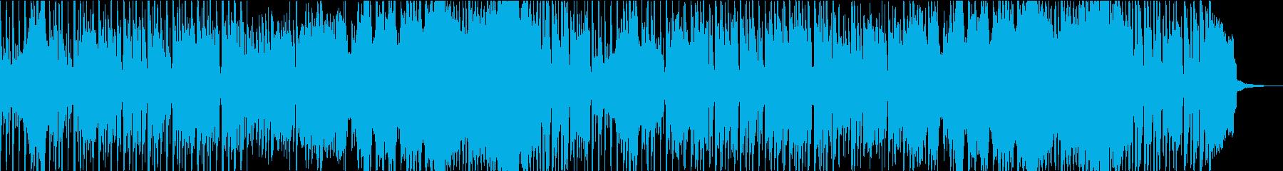 オープニングや切り替えに使える明るい曲の再生済みの波形
