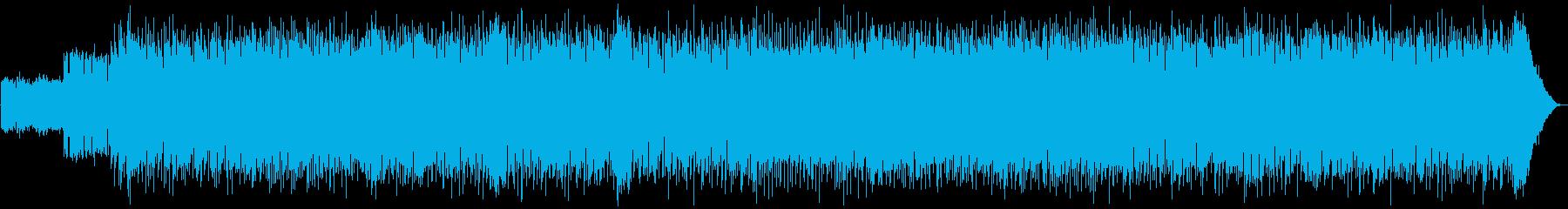 元気がでる80年代ロックBGMの再生済みの波形