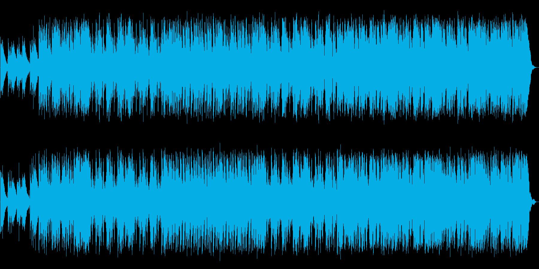 落ち着いたムーディーな夜ジャズの再生済みの波形