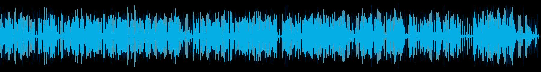 長尺オルゴール楽曲02-2(駆動音なし)の再生済みの波形