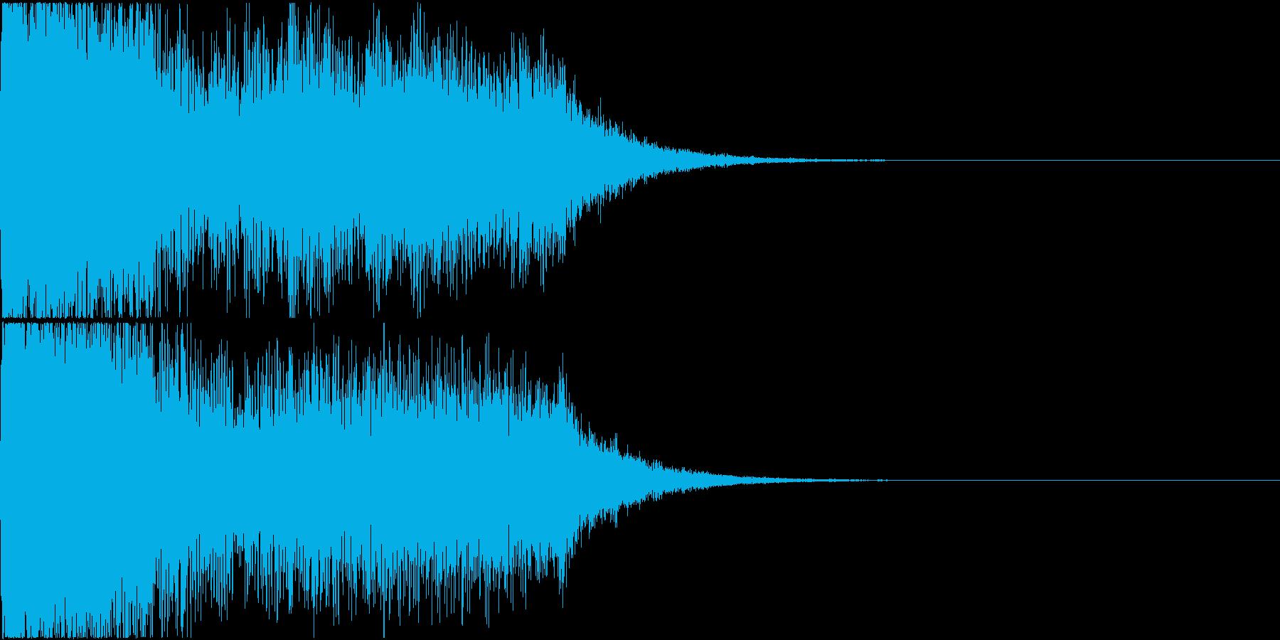 ロボット 合体 ガシーン キュイン 16の再生済みの波形