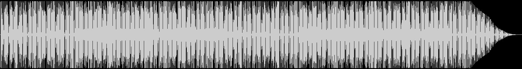 トロピカルな雰囲気のレゲエBGMメロ無しの未再生の波形