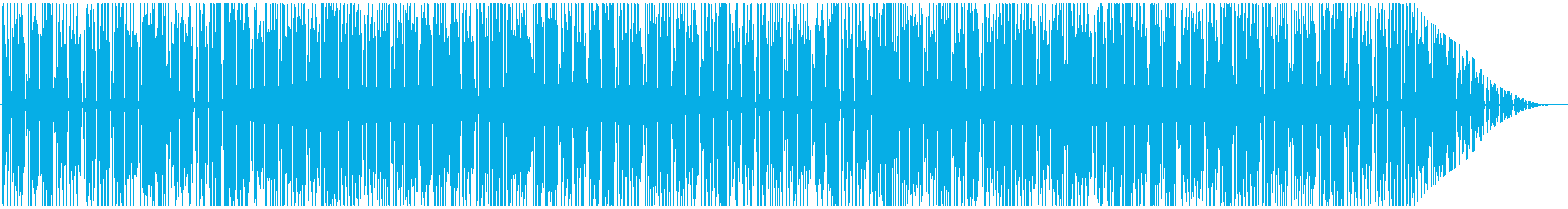 トロピカルな雰囲気のレゲエBGMメロ無しの再生済みの波形