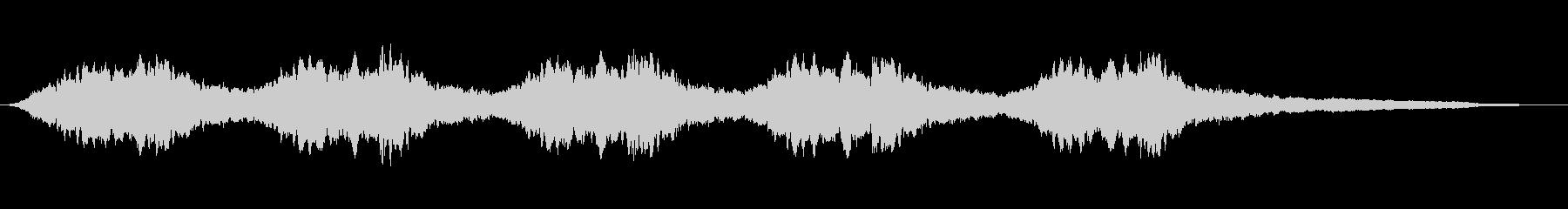 空襲サイレン:ロングブラスト、エン...の未再生の波形