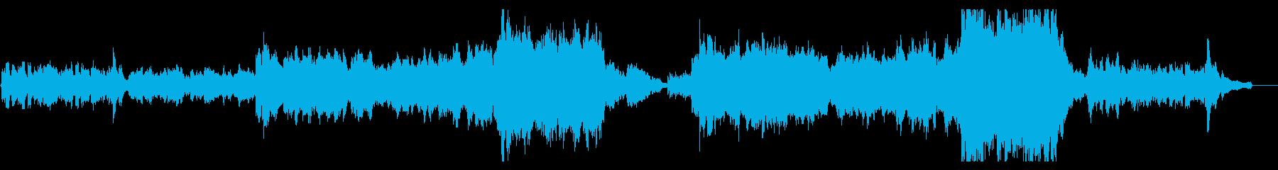 【生演奏】壮大/希望/感動/バイオリンの再生済みの波形