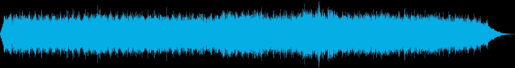 温い風の再生済みの波形