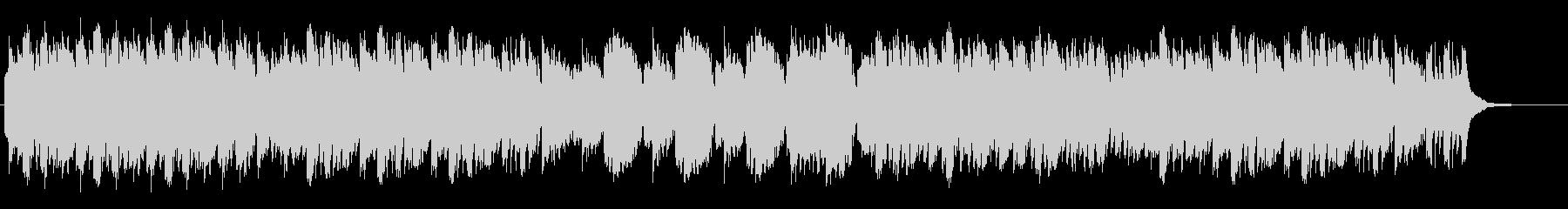 オカリナ・アコースティックギター、静aの未再生の波形