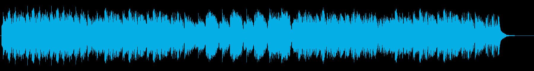 オカリナ・アコースティックギター、静aの再生済みの波形