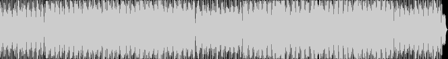 スカッとする明るく楽しいフュージョンの未再生の波形