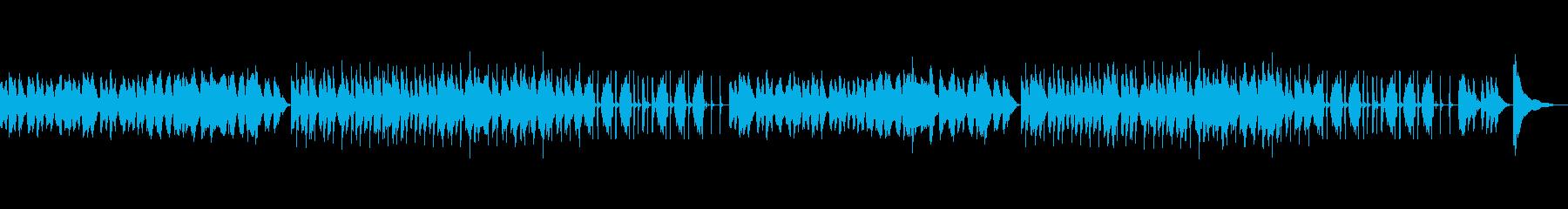ボノボノとした日常的なインストの再生済みの波形