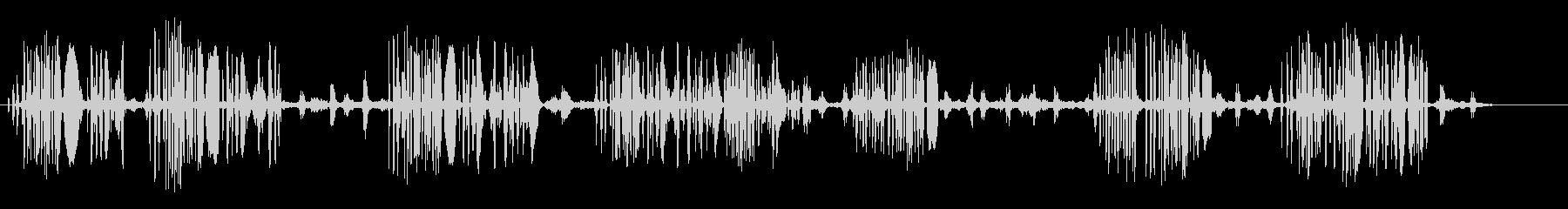ゴールドフィンチ鳥の未再生の波形
