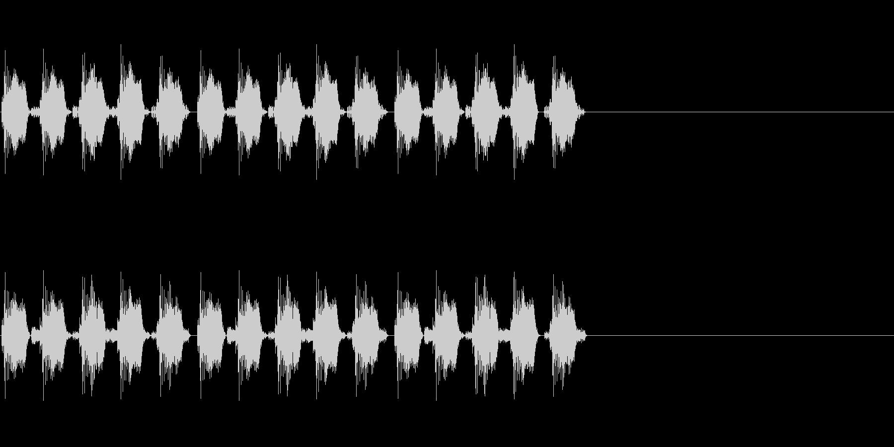 KANT自主規制音1shortの未再生の波形