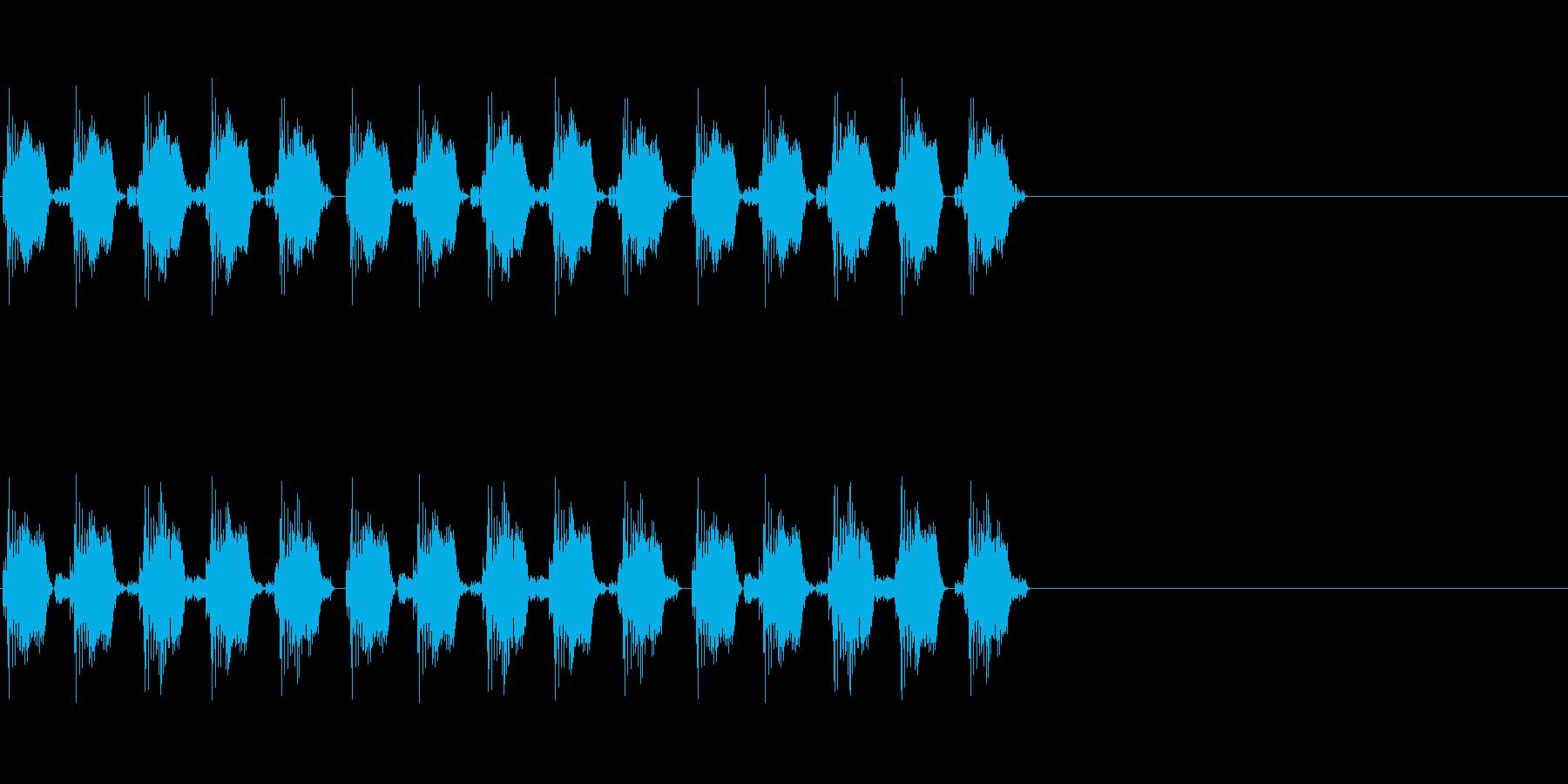 KANT自主規制音1shortの再生済みの波形