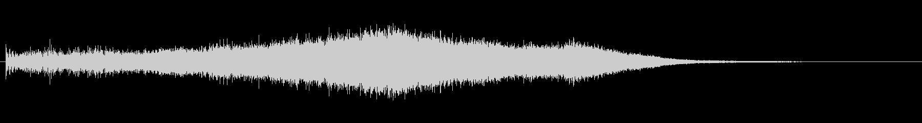 上昇 パンムーバーストレート01の未再生の波形