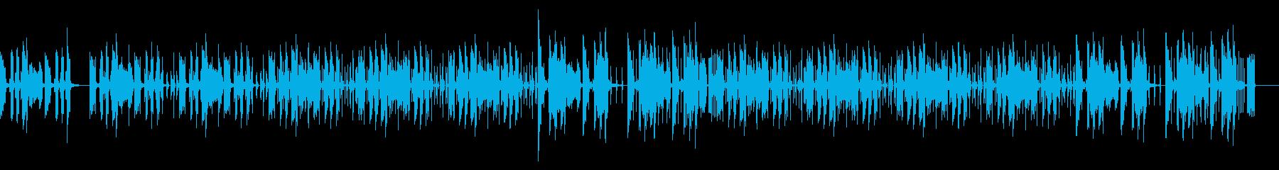 おしゃれカフェテラスリラックスチルアウトの再生済みの波形