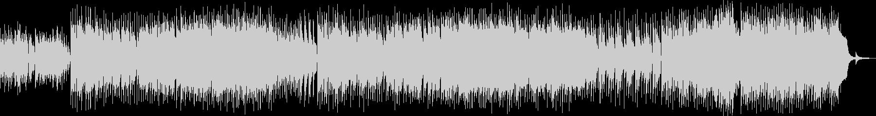 優しいエレピのメロディのピアノバラードの未再生の波形