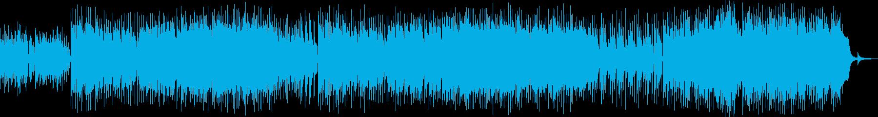 優しいエレピのメロディのピアノバラードの再生済みの波形