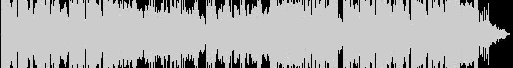 暖かい感じの笛のヒーリング音楽の未再生の波形