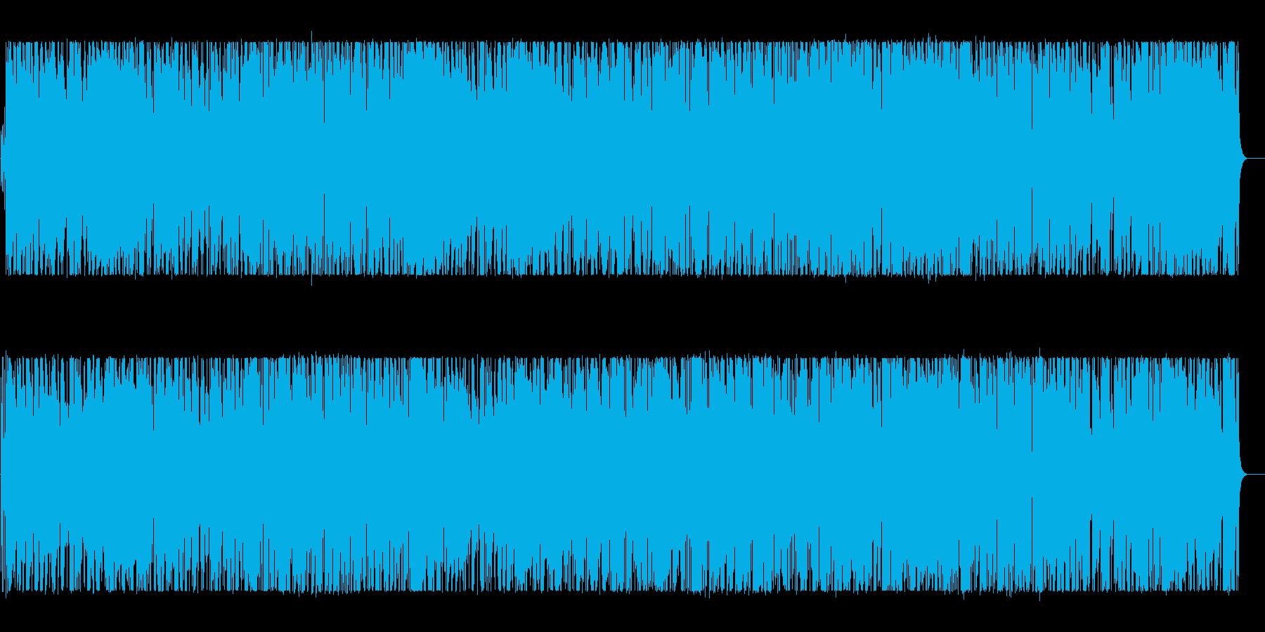 ゆったりした大人のイメージのポップBGMの再生済みの波形