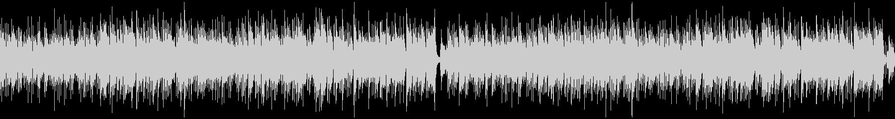 ループ/ギター生演奏の爽やかボサノバの未再生の波形