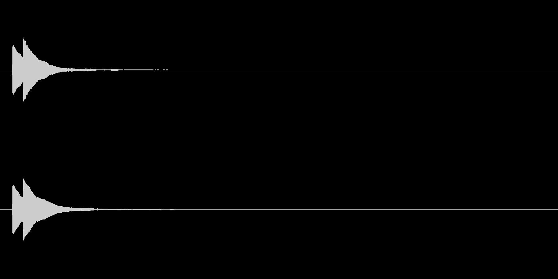 【ひらめき04-1】の未再生の波形