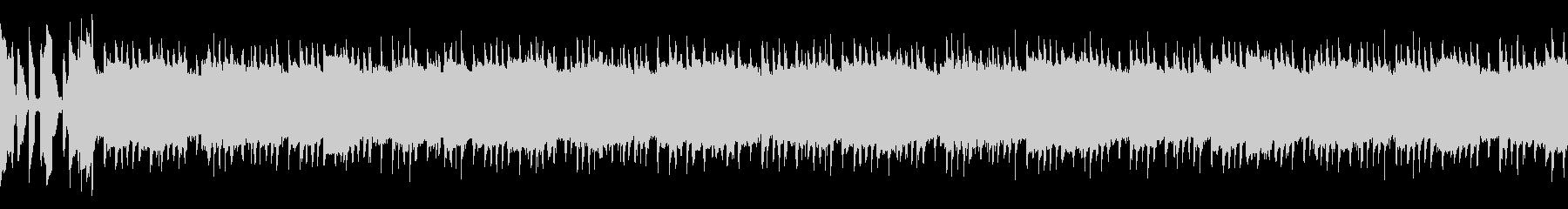 バトルモード突入のテンション上げの曲の未再生の波形