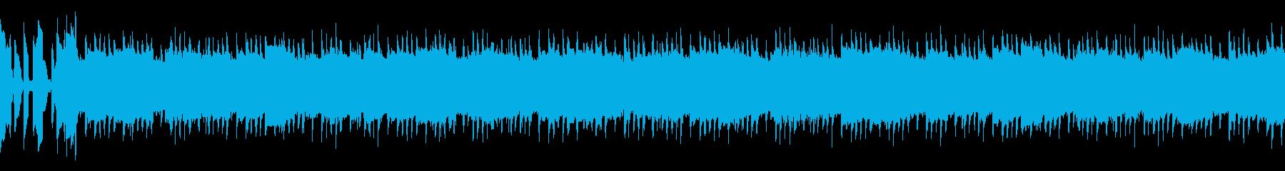 バトルモード突入のテンション上げの曲の再生済みの波形