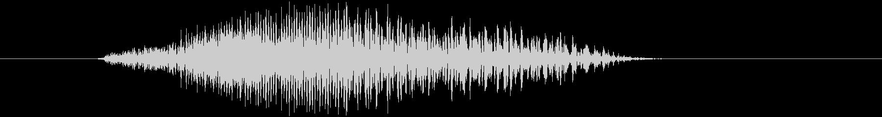 鳴き声 男性コンバットヒットハード08の未再生の波形