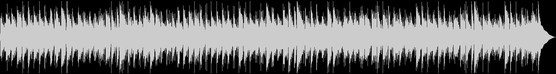 シンプルなインディポップの未再生の波形