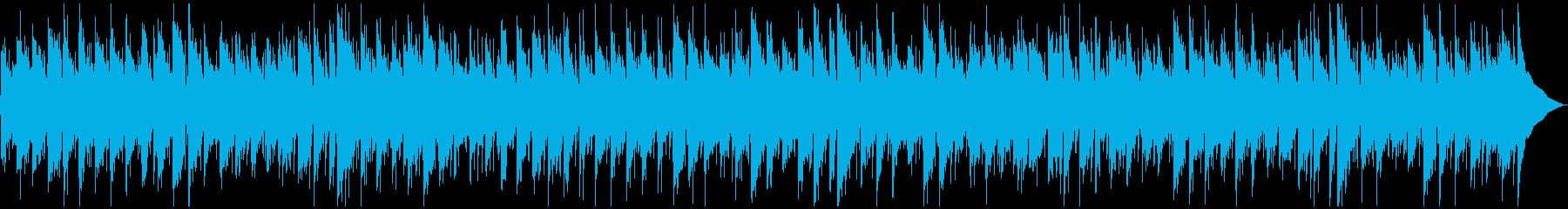 シンプルなインディポップの再生済みの波形