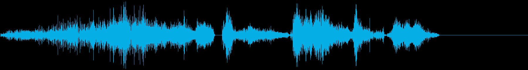 legの呼吸1の再生済みの波形