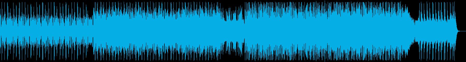 おしゃれロック♪企業VPコーポレートCMの再生済みの波形