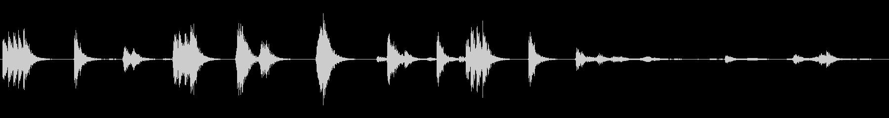 PAシステムマイク:スクレイプ、ヒ...の未再生の波形