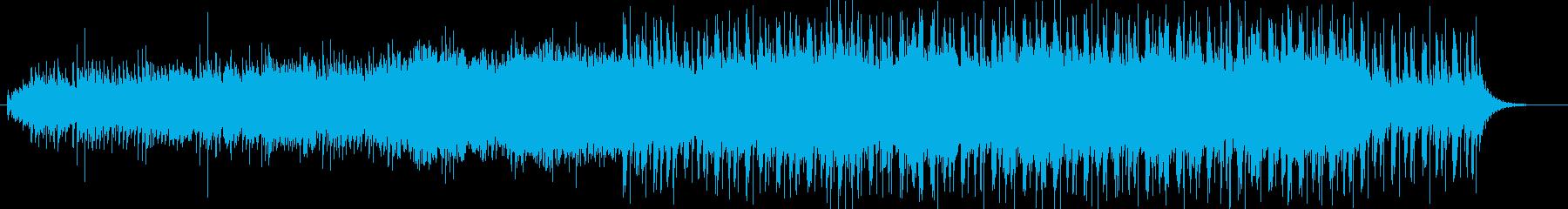 スタイリッシュでモダンな和風BGMの再生済みの波形