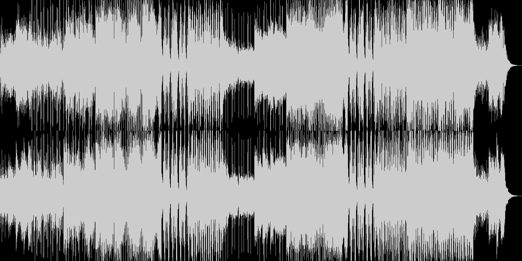 海を感じるFutureBasssの未再生の波形